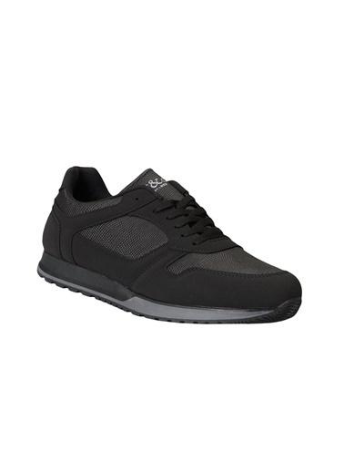 AC&Co / Altınyıldız Classics Casual Spor Sneaker Ayakkabı 4A2221100009 Siyah